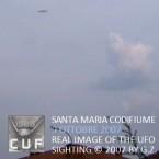 UFO su Ferrara: 2007