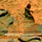 Marte: misterioso profilo antropomorfo