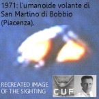 1971: l'umanoide volante di Bobbio