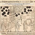 Antiche cronache: il cielo che sconvolse Basilea