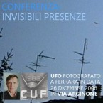 Conferenza: invisibilità degli UFO
