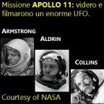 Apollo 11: gli astronauti videro e filmarono un enorme UFO