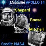 Apollo 14: videro e fotografarono strisce, punti e strani lampi di luce